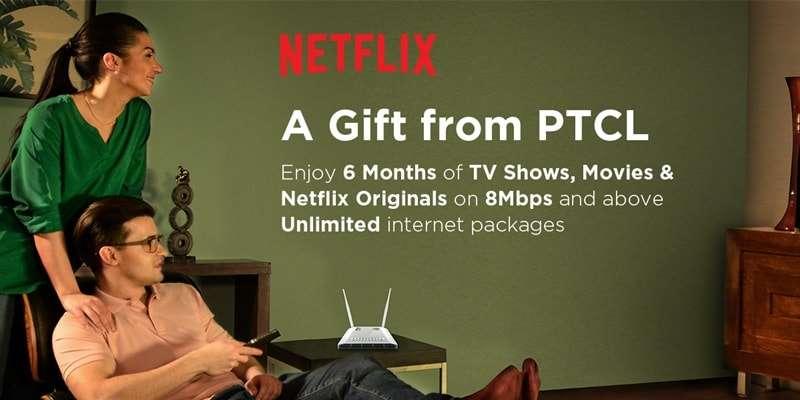 PTCL Netflix Gift Offer (A Gift from PTCL)
