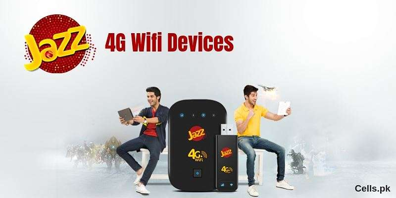 Mobilink Jazz 4G Wifi Device Packages, Specs & Prices - Dongles / Wingles / Mifi 2019 (Latest)
