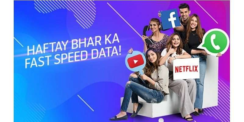 Telenor Weekly Mega Offer provides 4GB Internet in just Rs. 160 for 7 days