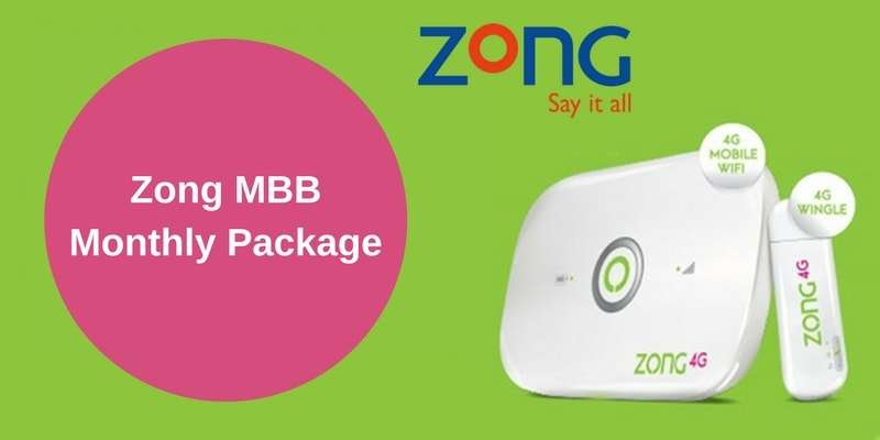 Get More Volume with Zong MBB Monthly Package (Complete Details)