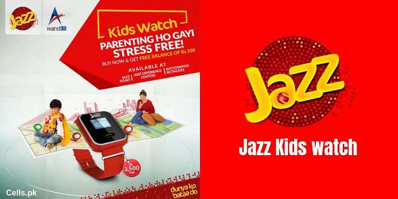 Keep your children safe with Jazz Kids Smart watch (Complete Details)