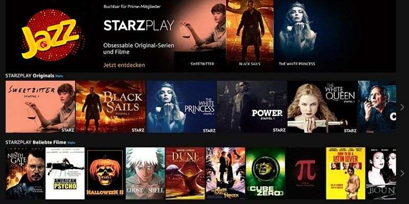 Jazz becomes Exclusive Telecom Partner of STARZPLAY by Cinepax