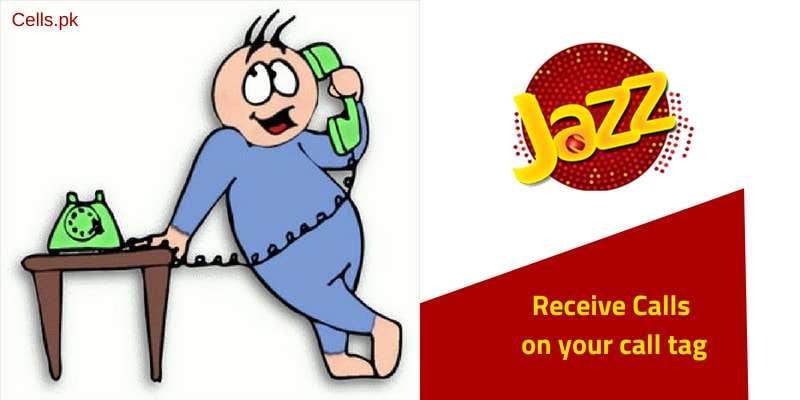 Now Jazz Warid Users can define a Call Tag for themselves to Receive Calls on their Contact numbers