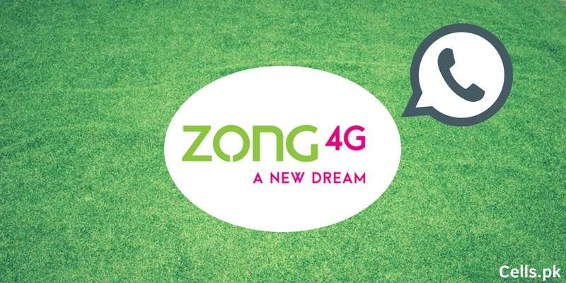 Zong WhatsApp Packages 2018 for Daily, 3 Days, Weekly and Monthly subscriptions (Complete Guide)