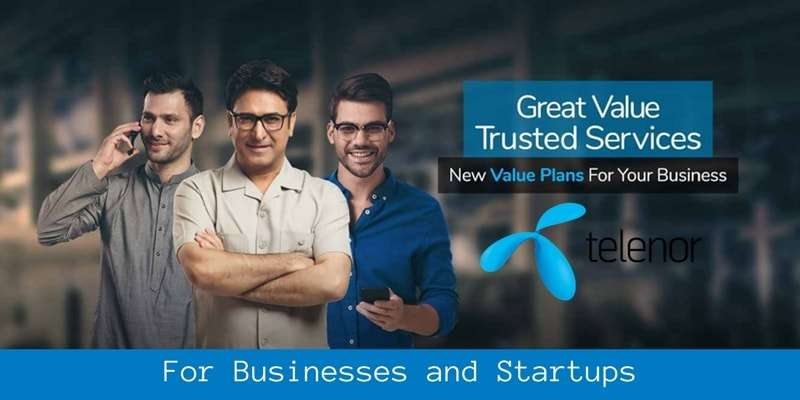 Telenor Value Packages for Businesses and Startups