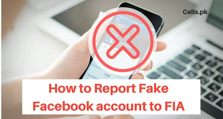 How to report fake facebook account to FIA Cyber Crime Branch