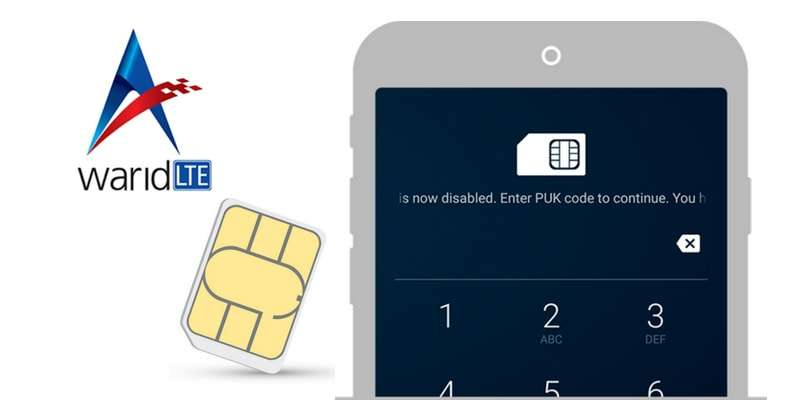 Warid - Check PIN/PUK Code & Reset PIN Number for Locked Warid SIM 2018