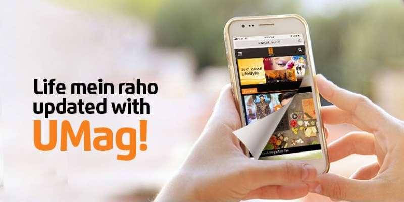 Ufone Multimedia Magazine - UMag (Complete Details)