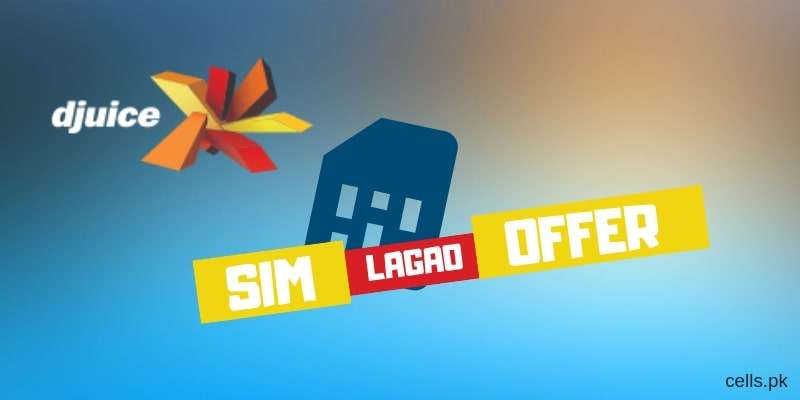 Djuice SIM Lagao Offer Gives 3GB Internet & 3000 On-net Minutes absolutely FREE for 60 Days