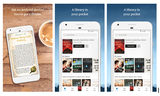 Amazong Kindle App Overview
