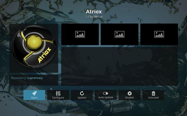 Atriox Kodi