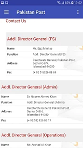 Pakistan Post Assistance
