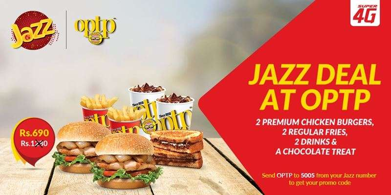 Jazz OPTP Offer | Enjoy Jazz Deal at OPTP