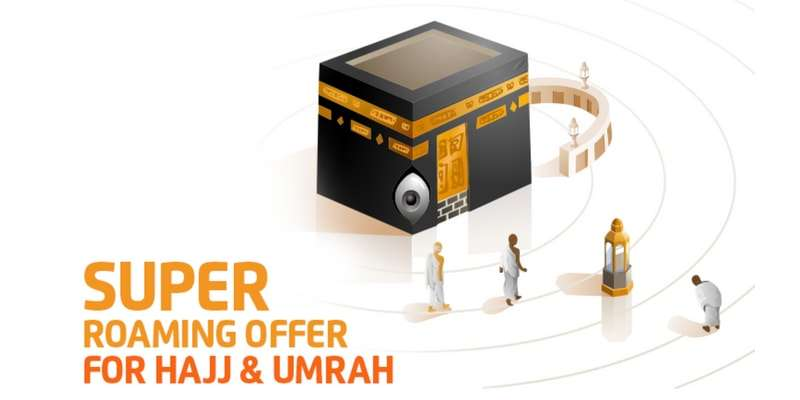 Get Ufone Roaming Super Card Offer for Hajj and Umrah 2018 to Enjoy FREE IR Minutes & SMS