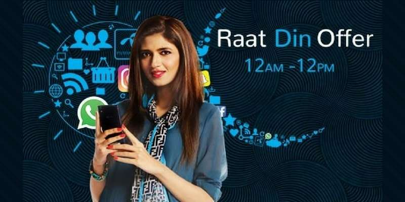 Enjoy 1.5 GB Data with Telenor Raat Din Offer in just Rs. 14 (2018)
