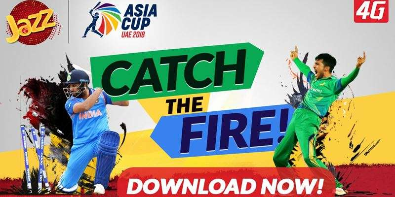 Watch Asia Cup 2018 Live with Jazz Cricket App