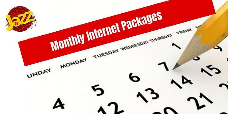 Choose the best affordable Jazz Monthly Internet Package from this list