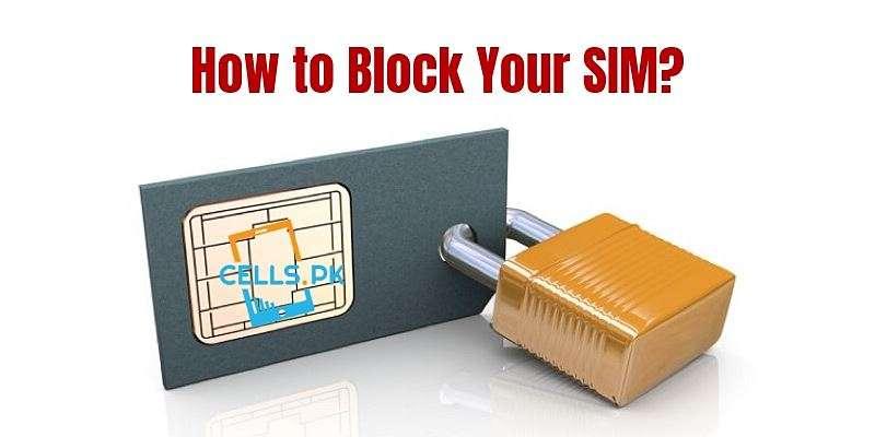 How to Block SIM Online: Zong, Telenor, Mobilink J