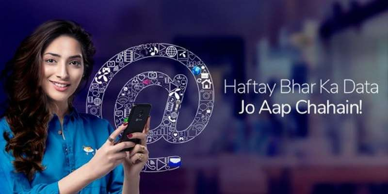 With Telenor 4G Weekly Ultra Internet Offer avail 6GB Internet in Rs. 140 Only