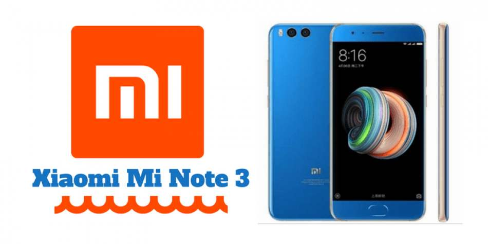 Xiaomi Mi Note 3 gets a cheaper variant with 4GB RAM & 64GB Storage: Check Price & Features