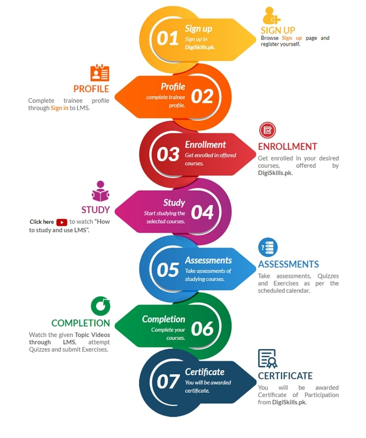 digiskills process infographic