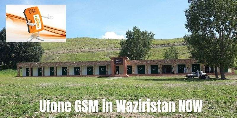 Ufone introduces GSM Services in North Waziristan (Mir Ali / Miranshah)