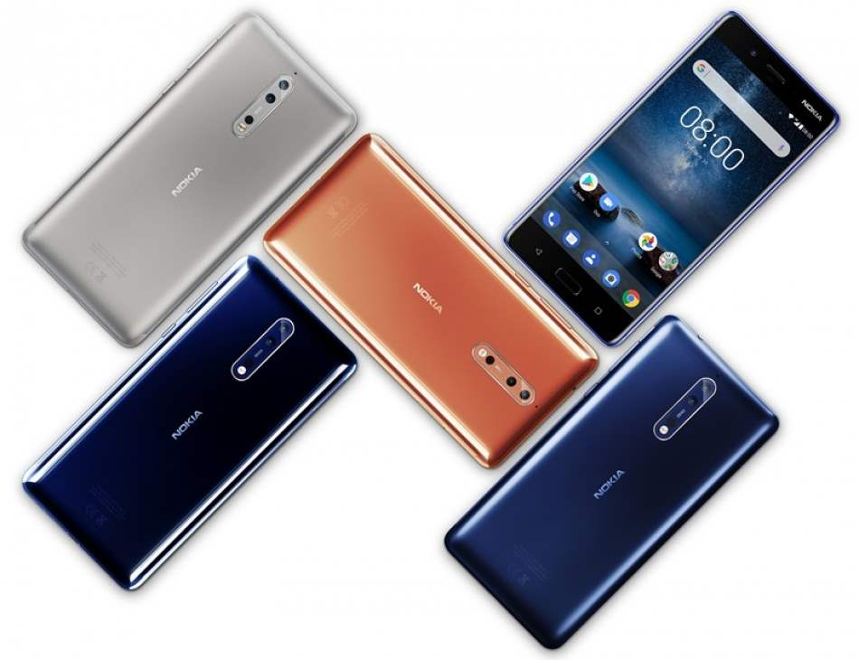 Nokia 8 receives Android 8.0 Oreo, Update for Nokia 5 & 6 coming soon