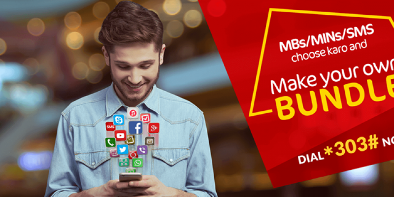 Mobilink / Jazz introduces Jazz Make Your Own Bundle Offer