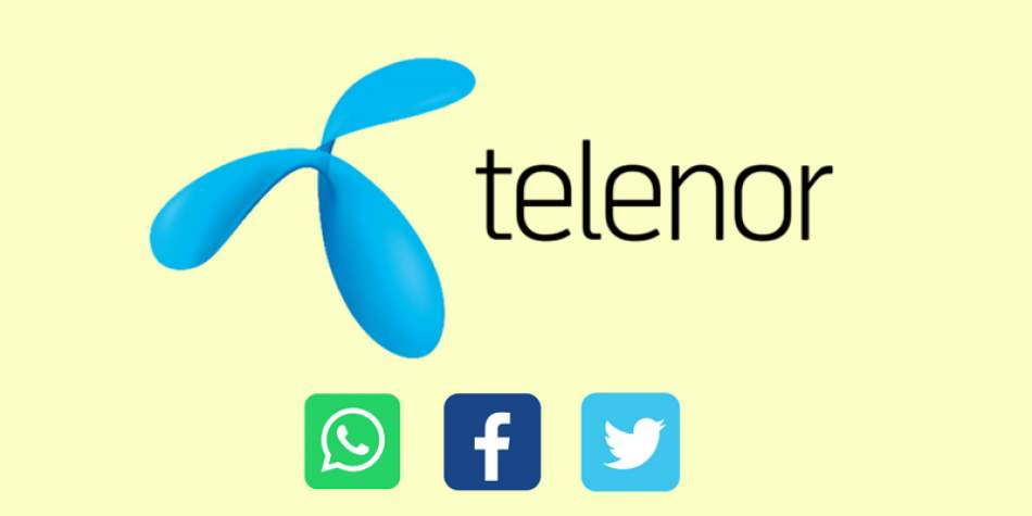 Telenor launches free WhatsApp, Twitter, Facebook & 3-day All-in-One Offer