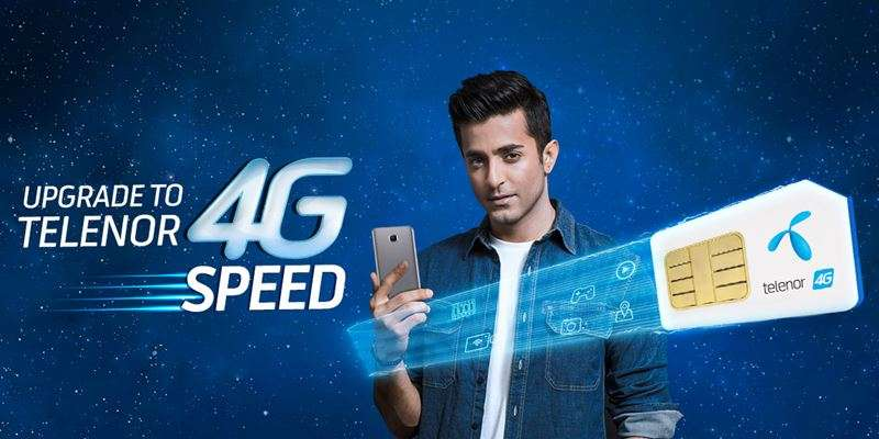 Telenor 4G SIM Replacement Offer provides 5GB FREE Internet