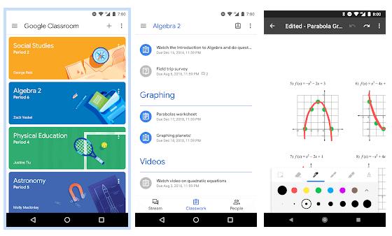 Google Classroom App Overview