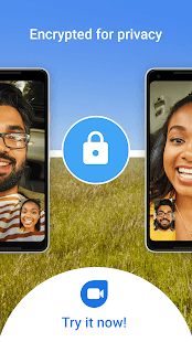 Google Duo encrypted for privacy