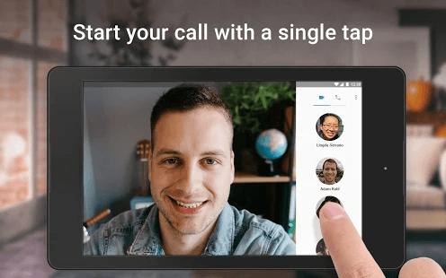 Google Duo Single Tap Call