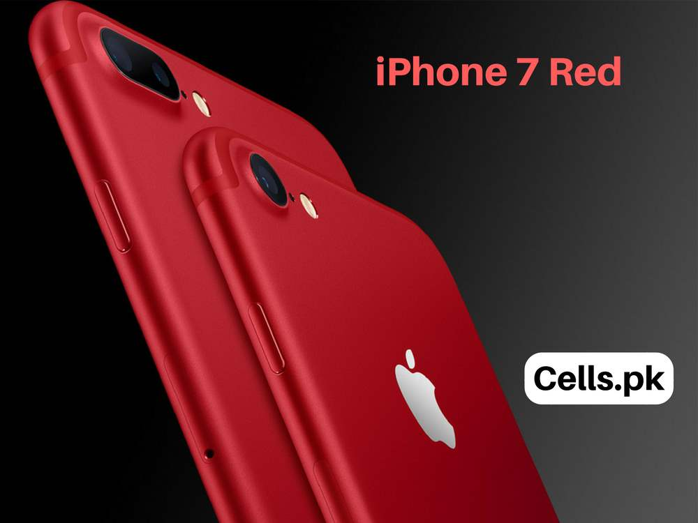 Apple launches new iPhone 7 in red color