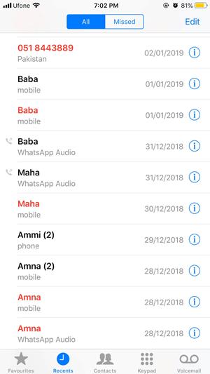 iPhone Call blocker