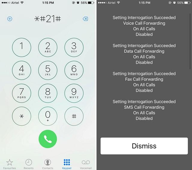 iPhone Call Forwarding Code