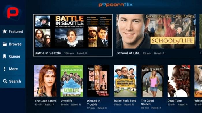 Popcornflix Movies App