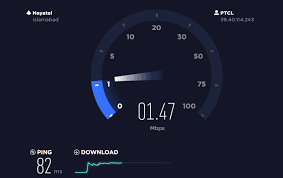 PTCL Internet Speed