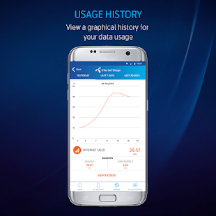 Telenor Usage History