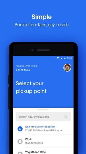 Uber Light App Simple