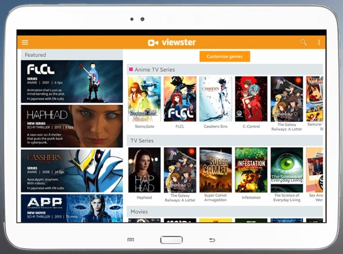 Viewster Movies App