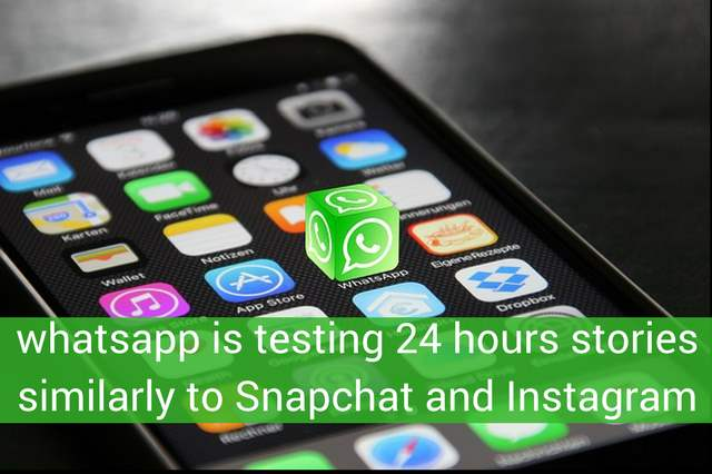 24 hour stories similarly to Snapchat and Instagram are arriving soon on Whatsapp