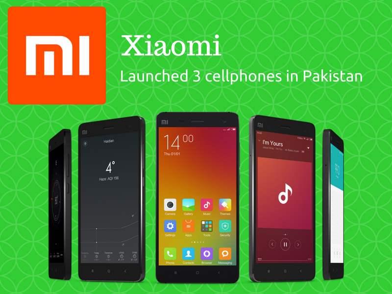 Xiaomi to launch three new smartphones in Pakistan today