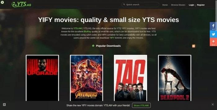 YIFY Movies App