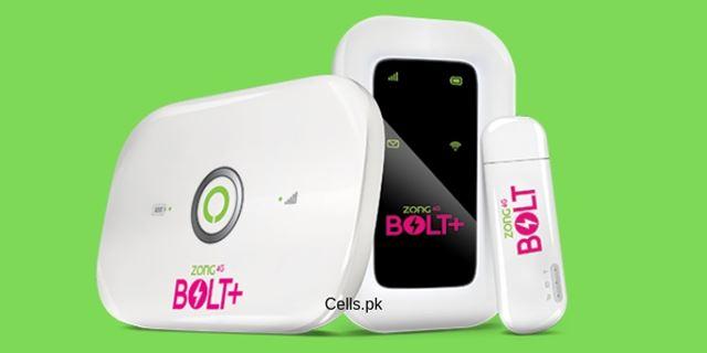 Zong 4G Bolt+ Device