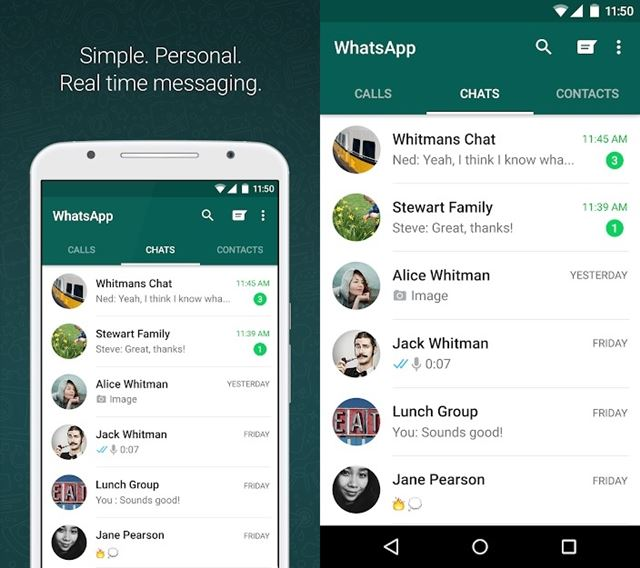 Whatsapp Real-time Messaging