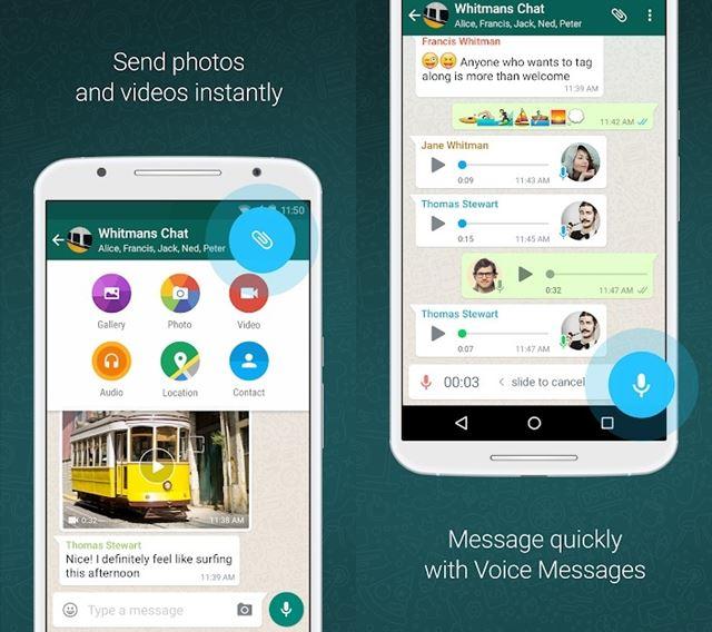 Whatsapp Send Photos
