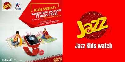 News Keep your children safe with Jazz Kids Smart watch (Complete Details)