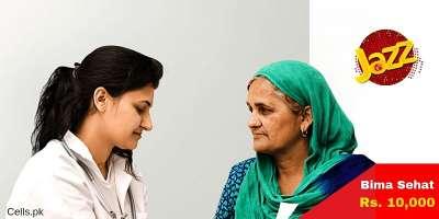 News Jazz BIMA Sehat 24/7 Service provides Hospitalisation Coverage of upto Rs. 10,000 Per Night