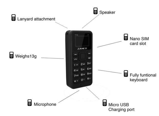 Zanco Tiny T1 specifications